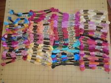 100 Skeins Embroidery Floss Thread Cross Stitch Crafts      DMC          Lot #1