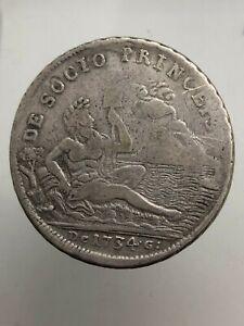 RARE-PLATE-da-120-GRATED-1734-SEBETO-Carlo-di-Bourbon-Kingdom-Napoli-expertise