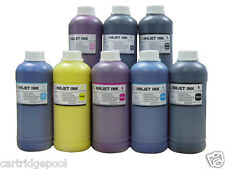 8 Pint pigment refill ink for Epson R2200 Wide-format Printer CMY/PK/LC/LM/LK/MK