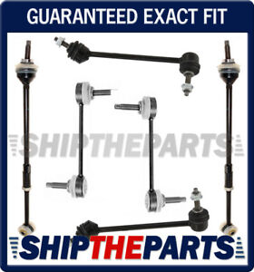 Lincoln LS 2000-2006 Front Rear Sway Bar Links Tie ROD TORQUE ROD KIT Set of 6