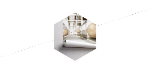 Fabelhafte 3D Effekt VLIES FOTOTAPETE XXL Kugeln aus Holz 8916 Wohnzimmer