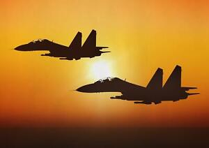 A1-Sukhoi-Su-27-Fighter-Jet-Wall-Art-Poster-Print-60-x-90cm-180gsm-Gift-15825