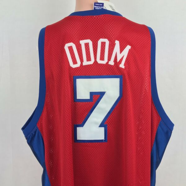 1c73ce38d VTG Champion Authentic Lamar Odom LA Clippers Jersey 56 NBA Sewn NEW  Deadstock