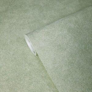 Plain-Wallpaper-lime-Green-Textured-faux-plaster-textures-Gold-Metallic-glitter