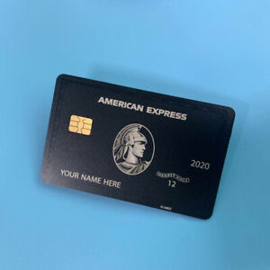 Newest-American-Centurion-Black-Card-Black-Metal-Finish-Amex-Express-Card-2020