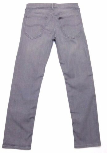 Mens Daren secondi Slim 85 L157 dritti Grigio £ Jeans stretch Lee Rrp ffwTqSrRn