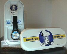 Peanuts Snoopy & Woodstock Armitron Musical Watch in Case Nice Condition