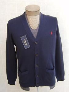 99ed13b732 Polo Ralph Lauren Cardigan Pony XL Sweater Pima Cotton Men's Button ...
