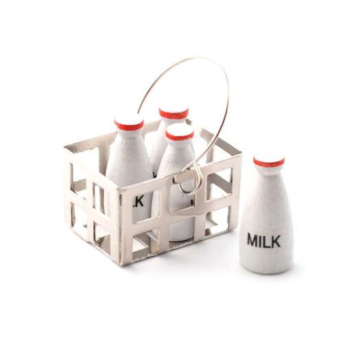 Dolls House 5587 Milchflaschen in Korb 1:12  für Puppenhaus NEU!#
