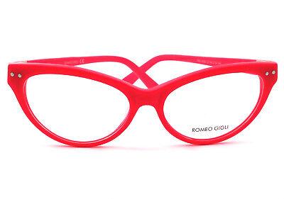 100% Vero Occhiali Da Vista Romeo Gigli Donna Rg 4032 Colore Fucsia/col.d