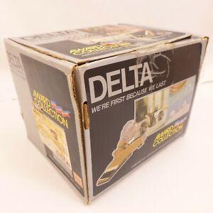 NOS-Delta-Antique-Brass-AWARD-COLLECTION-Tub-amp-Shower-Valve-Trim-Handle-Spout