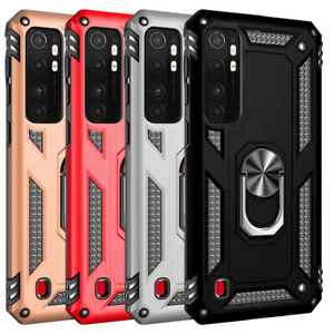 For-Samsung-Galaxy-A20e-A50-A10-S20-Note-10-Shockproof-Rugged-Stand-Ring-Case
