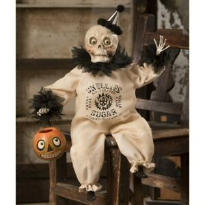 Skeleton-Posable-Figurine-Halloween-Decor