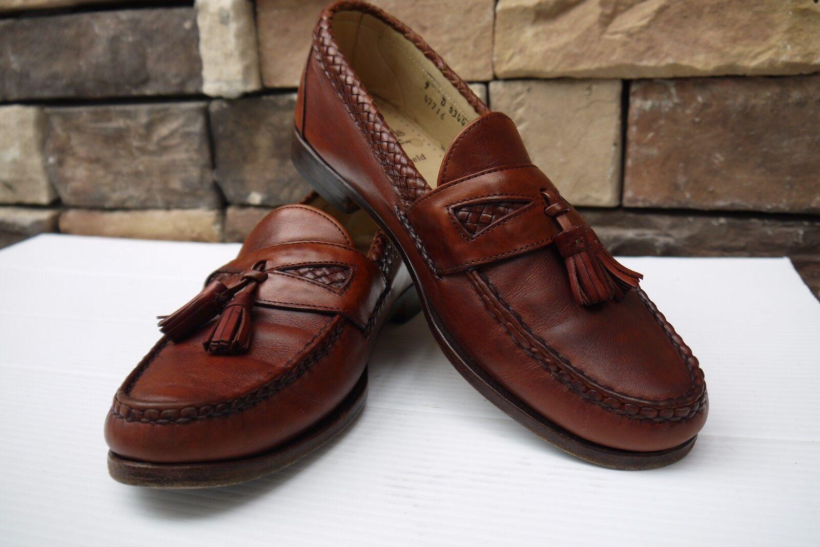 Allen Edmonds Men's Maxfield Tassel Loafer CHILI US 9 D  MUST HAVE