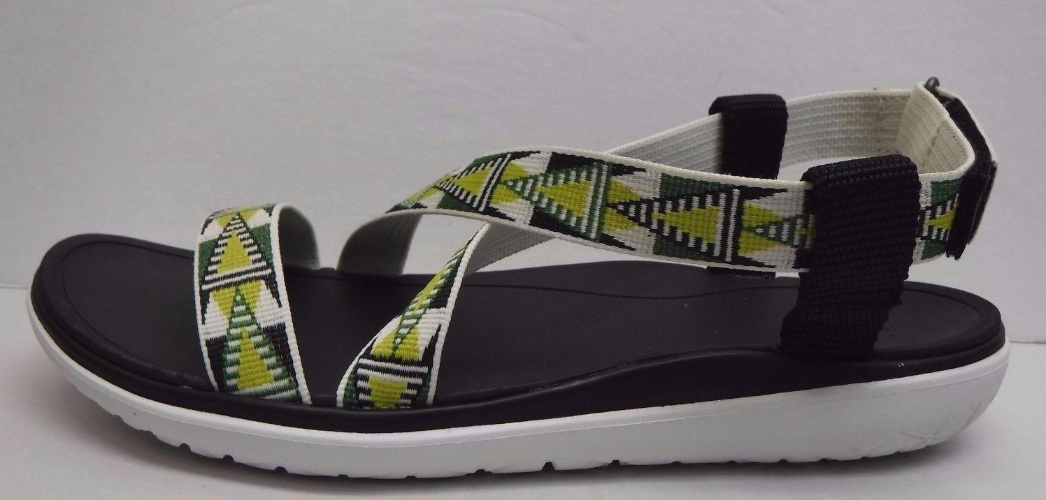 Teva Größe 7.5 Green Sandales NEU Damenschuhe Schuhes