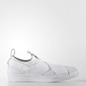 New Adidas Original Damenschuhe Damenschuhe Original Superstar Slip On BY2885 Weiß US W 5.0 ... 71599e