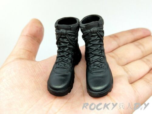 Bottes for Special Weapons and Tactics Anti-TERRORISME frappe Man 1//6th scale Action Figure