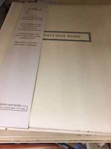 Hallmark-50th-Anniversary-Fifty-Years-of-Marriage-Memory-Book-New