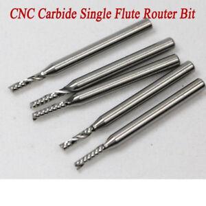 10-x-2mm-Frese-carburo-tungsteno-monotagliente-Metallo-duro-Per-alluminio