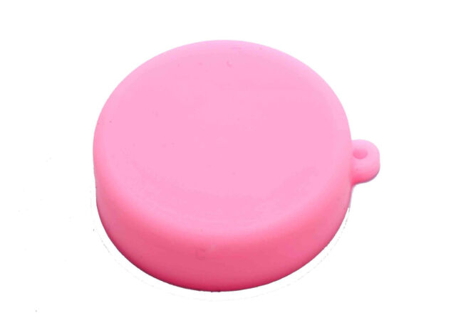 Pink Soft Silicone Camera Lens Protective Cover Cap for GoPro Hero 3/3 4