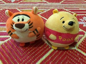 2529bfd547e6 Image is loading Ty-Beanies-Disney-Winnie-The-Pooh-And-Tigger-
