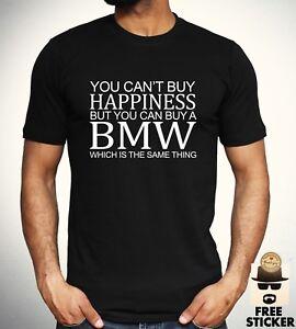 BMW-Funny-Parody-T-shirt-Car-Owner-M-Power-Sport-Racing-Gift-Top-Mens-S-XXL
