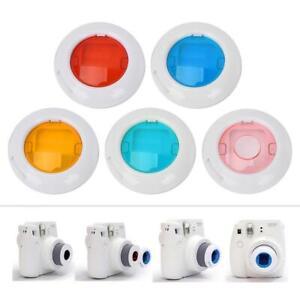 For-Fujifilm-Instax-Mini-7s-8-8-9-Film-Camera-5Pcs-Color-Filter-Close-Up-Lens