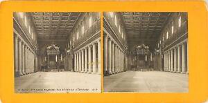 Italia-Roma-Basilique-Sainte-Maria-Major-Foto-Stereo-Analogica-PL62L10