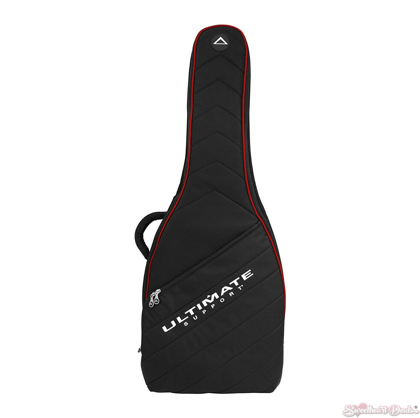 Ultimate Support USHB2EGRD Soft Case Electric Guitar w  Backpack Strap rot Trim