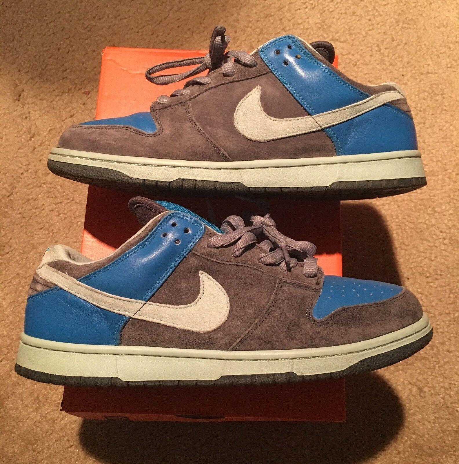Mens Nike Dunk SB Low Ash Chalk Sz 11.5 304292-032