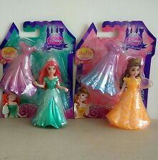 BNIB Disney Princess Little Kingdom Magiclip Fashions Dolls Ariel & Belle