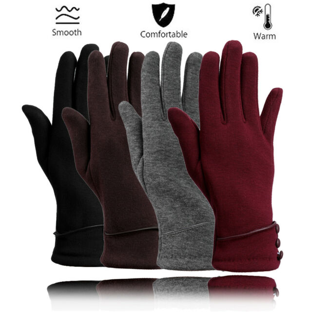 Soft Knitted Touch Screen Compatible Gloves One Size Wild Fable ~ New!