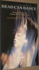 Dead Can Dance 1996 LAST LIVE CONCERT GIG POSTER Rare/End Of Era MINT Full Color
