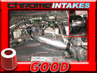 Black Red 94-97 Chevy S10/xtreme/hombre/sonoma 2.2 2.2l Full Cold Air Intake 3