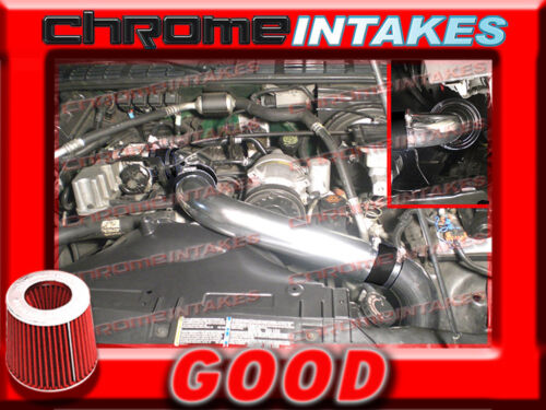 """BLACK RED 94-97 CHEVY S10//XTREME//HOMBRE//SONOMA 2.2 2.2L FULL COLD AIR INTAKE 3/"""""""