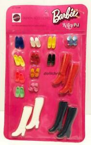 1971-Barbie-Fashion-Accessories-Mattel-3382-Shoes-Boots-14-pairs-New-on-Card-Vtg