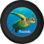 Spare Tire Cover Sea Turtle Oceanholic Ocean Life Camperfor SUV or RV