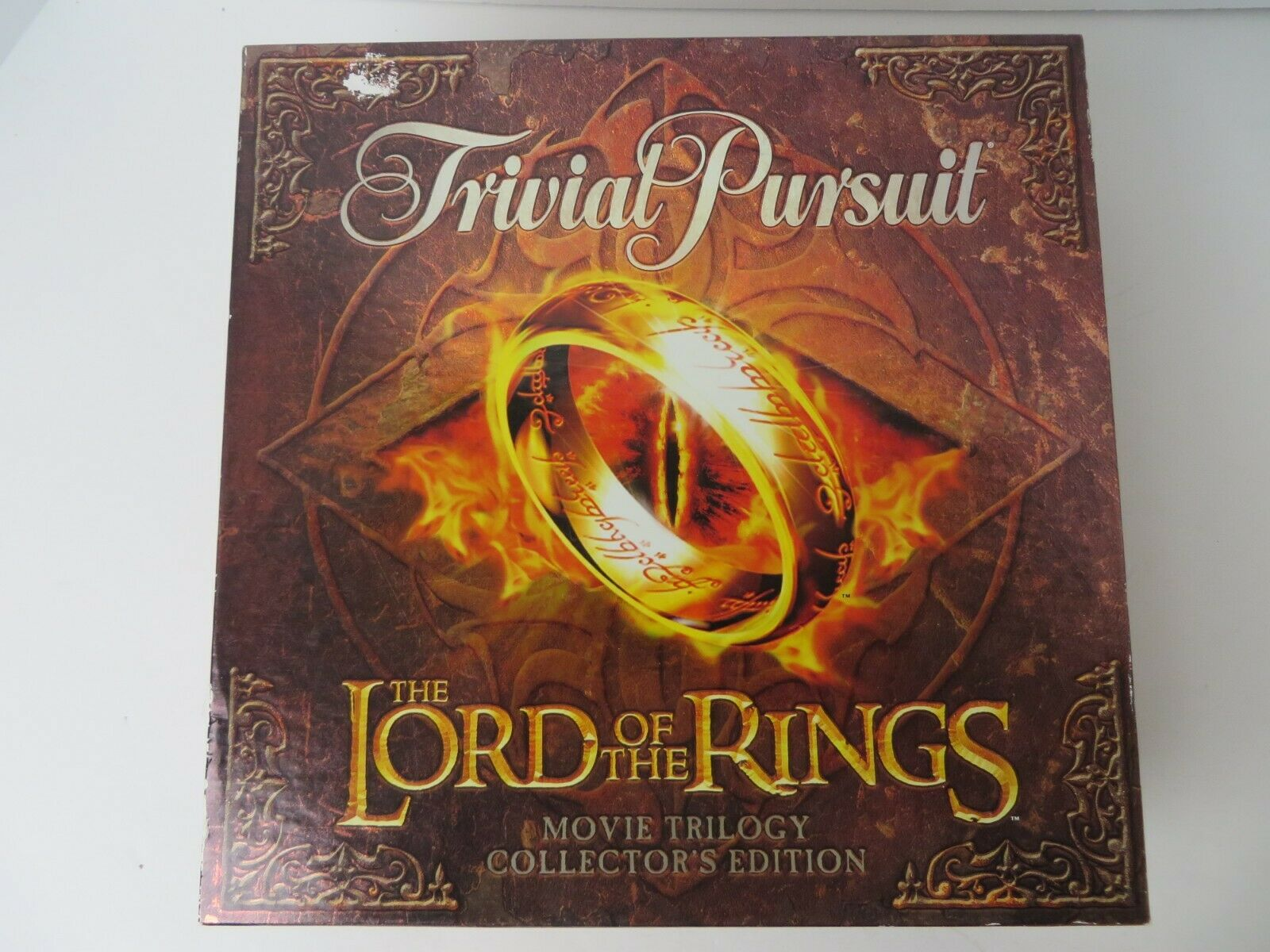 Lord of the Rings Trivial Pursuit Game Open Box Sealed Pieces Never Played  0327