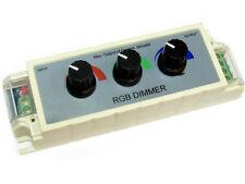 DIMMER 3 CANALI PER STRISCIA LED RGB 12-24V