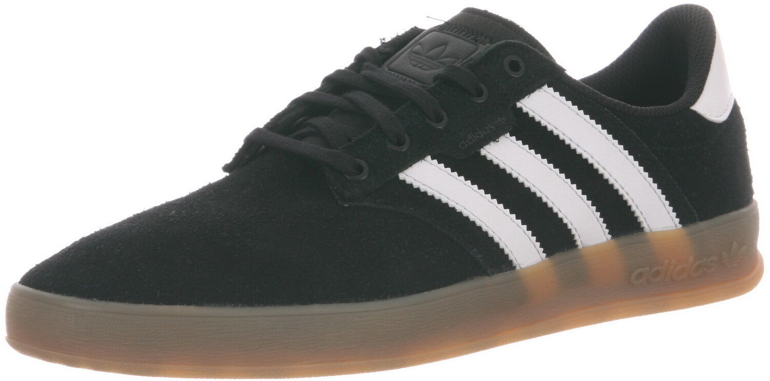 Adidas SEELEY CUP Black White Brown Discounted (305) Skateboarding Men's Shoes