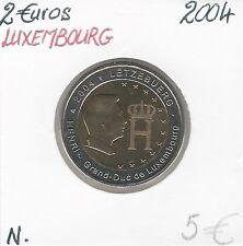 2 Euros - LUXEMBOURG - 2004 // Qualité: Neuve
