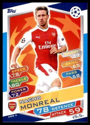 NACHO MONREAL ARSENAL Nº 6 Panini Premier League adrenalyn XL 2019//20