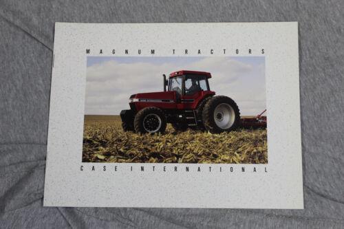 Case IH late 7100-series Magnum tractor original sales brochure #AD60303I