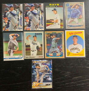 Tyler-Glasnow-Lot-9-Topps-Tampa-Bay-Rays