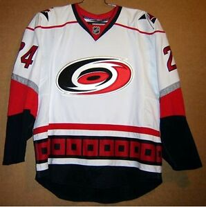 ab672b3f84d Details about CAROLINA HURRICANES SCOTT WALKER  24 AUTHENTIC NHL Hockey Size  56 JERSEY