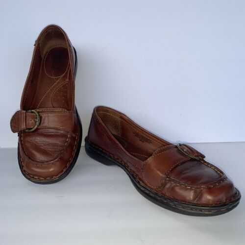 work or play hand stitching,leather soles medium brown classic men/'s handmade leather loafers excellent condition classy size 11.5 M