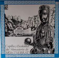 LP CAPILLA Y ESCOLANIA DEL MONASTERIO DE MONTSERRAT ,NM EMI Barcelona