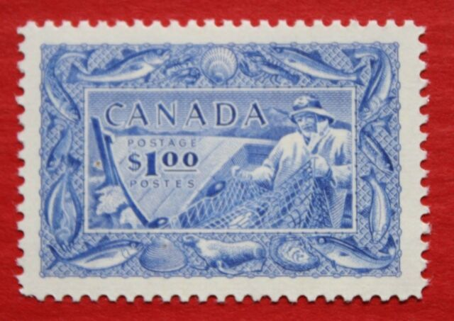 CLEARANCE: Canada (#302) 1951 Canada's Fishing Resources single