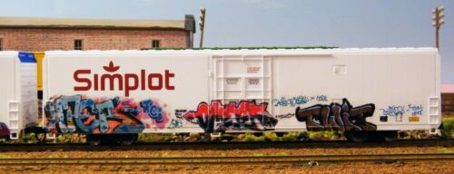 HO SCALE GRAFFITI DECALS SET 310 COLORFUL FROM ACTUAL PHOTOS LASER PRINTED