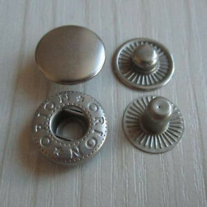 10-or-25-Sets-Leather-GreySilve-Rapid-Rivet-Button-Snap-Fastener-3-8-034-1-2-034-5-8-034